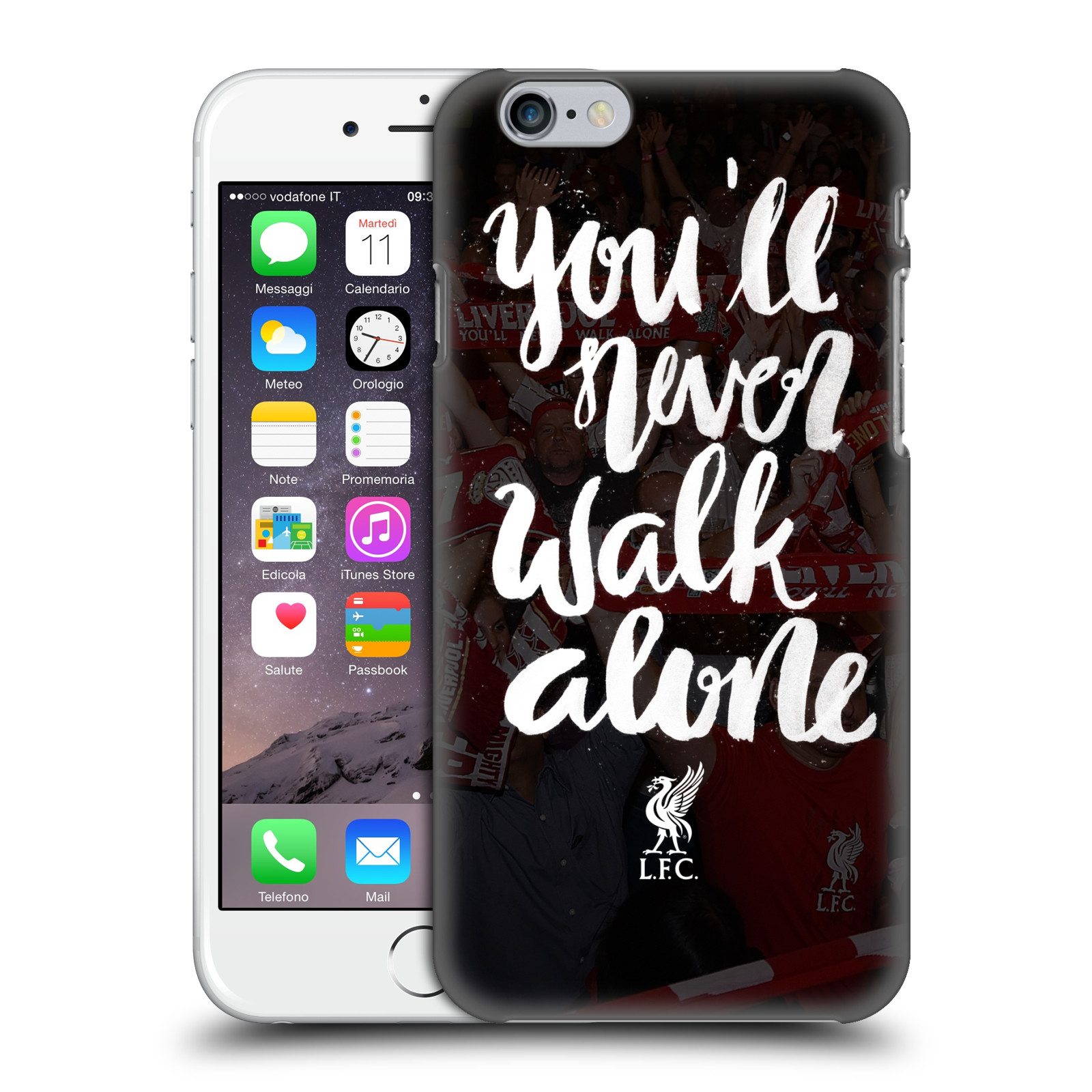 Liverpool FC LFC You'll Never Walk Alone-Kop 2