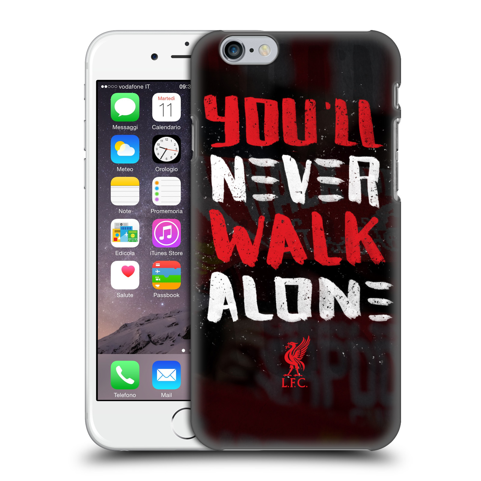 Liverpool FC LFC You'll Never Walk Alone-Kop 4