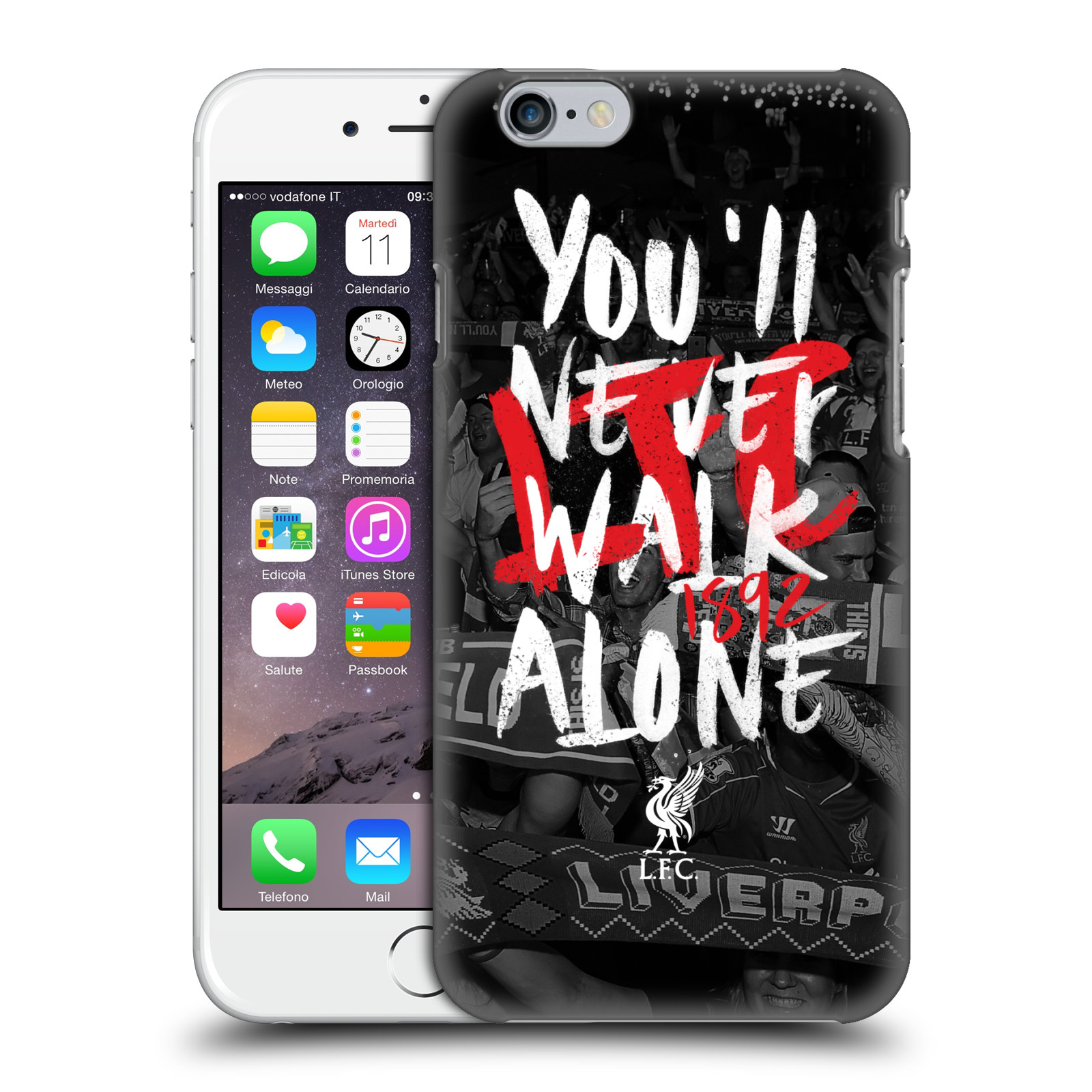 Liverpool FC LFC You'll Never Walk Alone-Kop 6