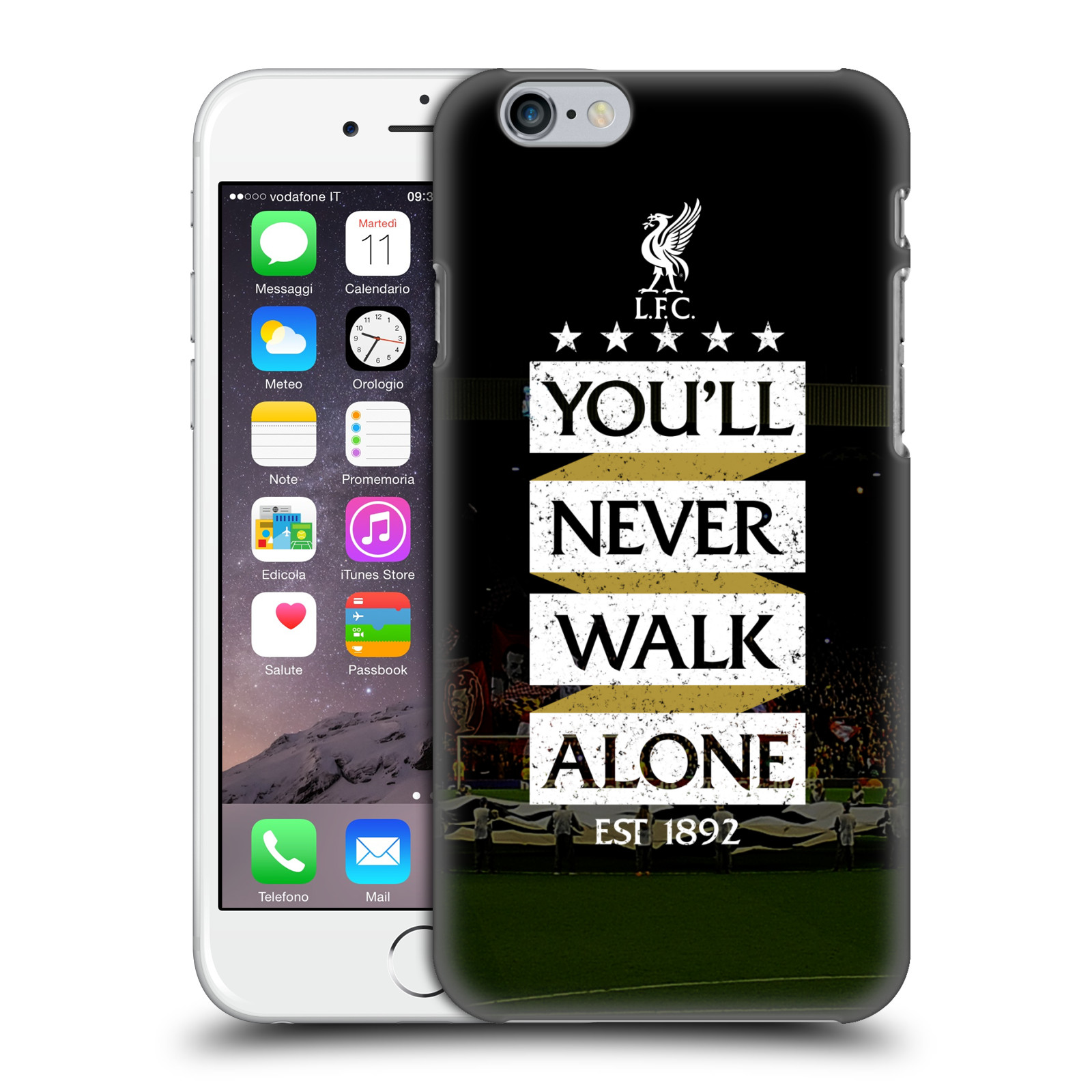 Liverpool FC LFC You'll Never Walk Alone-Kop 7