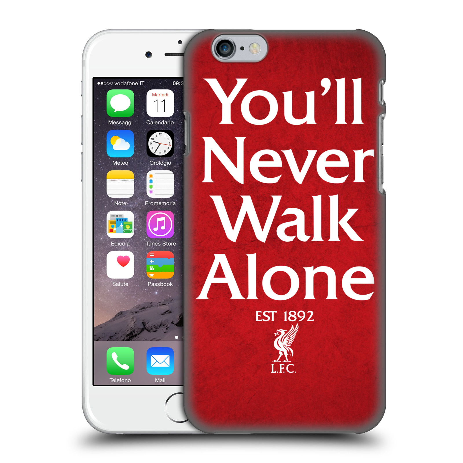 Liverpool FC LFC You'll Never Walk Alone-Red 1