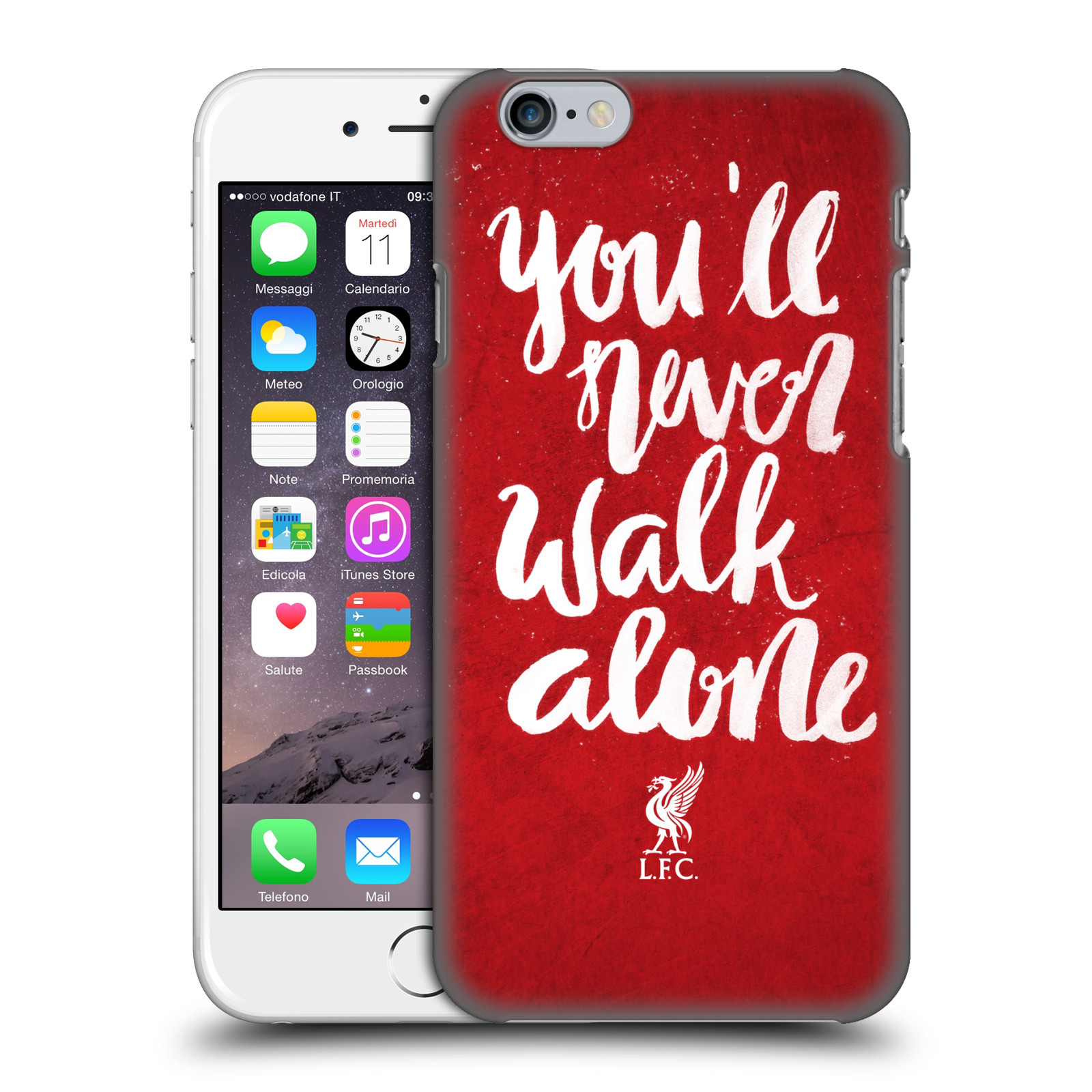Liverpool FC LFC You'll Never Walk Alone-Red 2