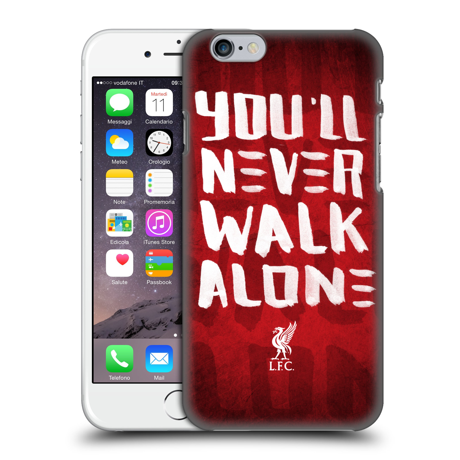 Liverpool FC LFC You'll Never Walk Alone-Red 4