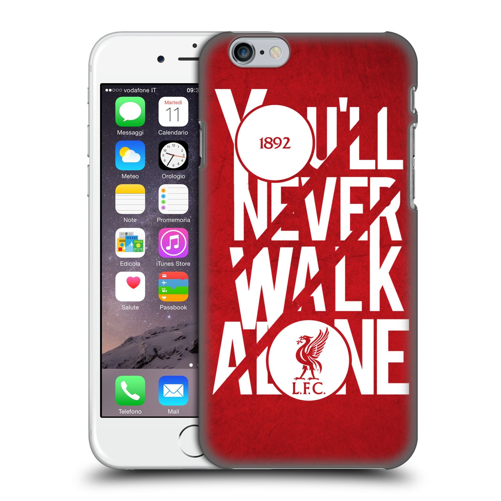 Liverpool FC LFC You'll Never Walk Alone-Red 5