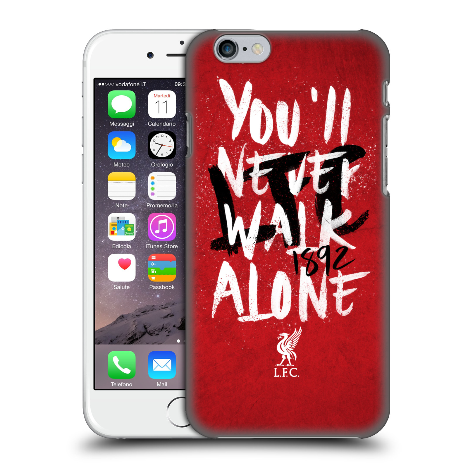 Liverpool FC LFC You'll Never Walk Alone-Red 6