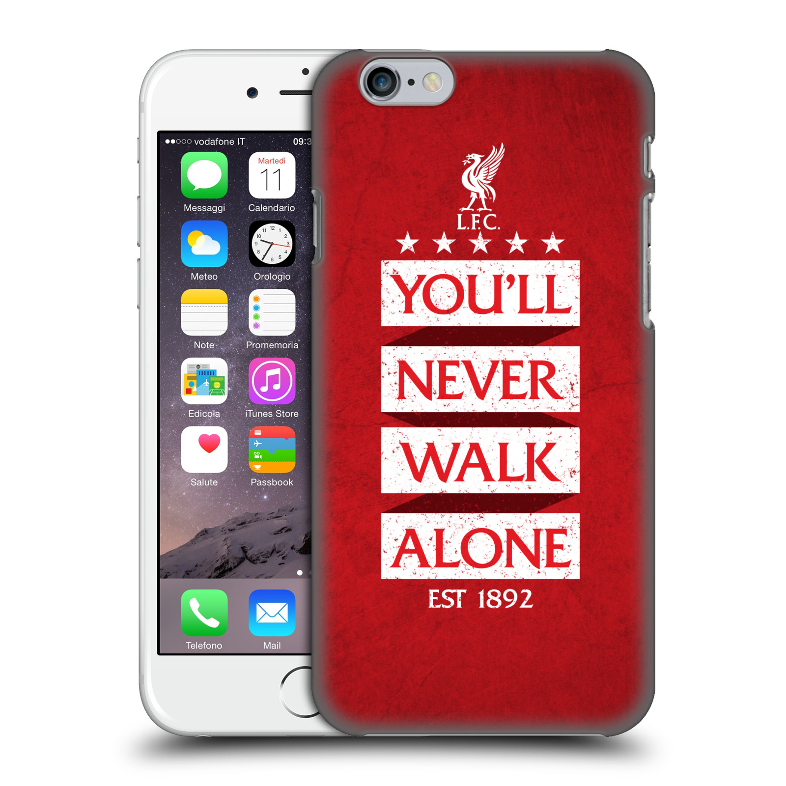 Liverpool FC LFC You'll Never Walk Alone-Red 7