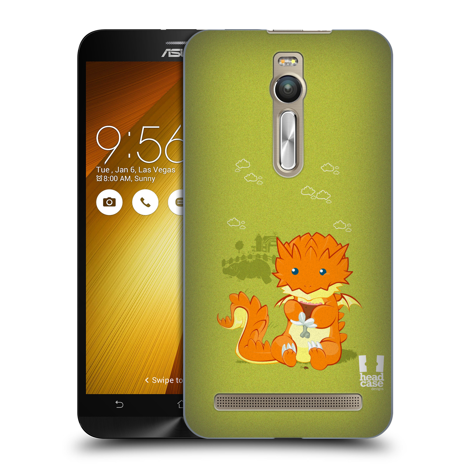 HEAD CASE DESIGNS LITTLE DRAGONS HARD BACK CASE FOR ONEPLUS ASUS AMAZON