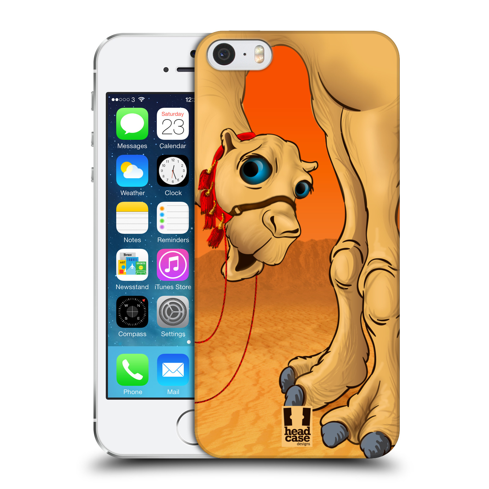 HEAD CASE DESIGNS LONG LEGGED HARD BACK CASE FOR APPLE iPHONE 5S
