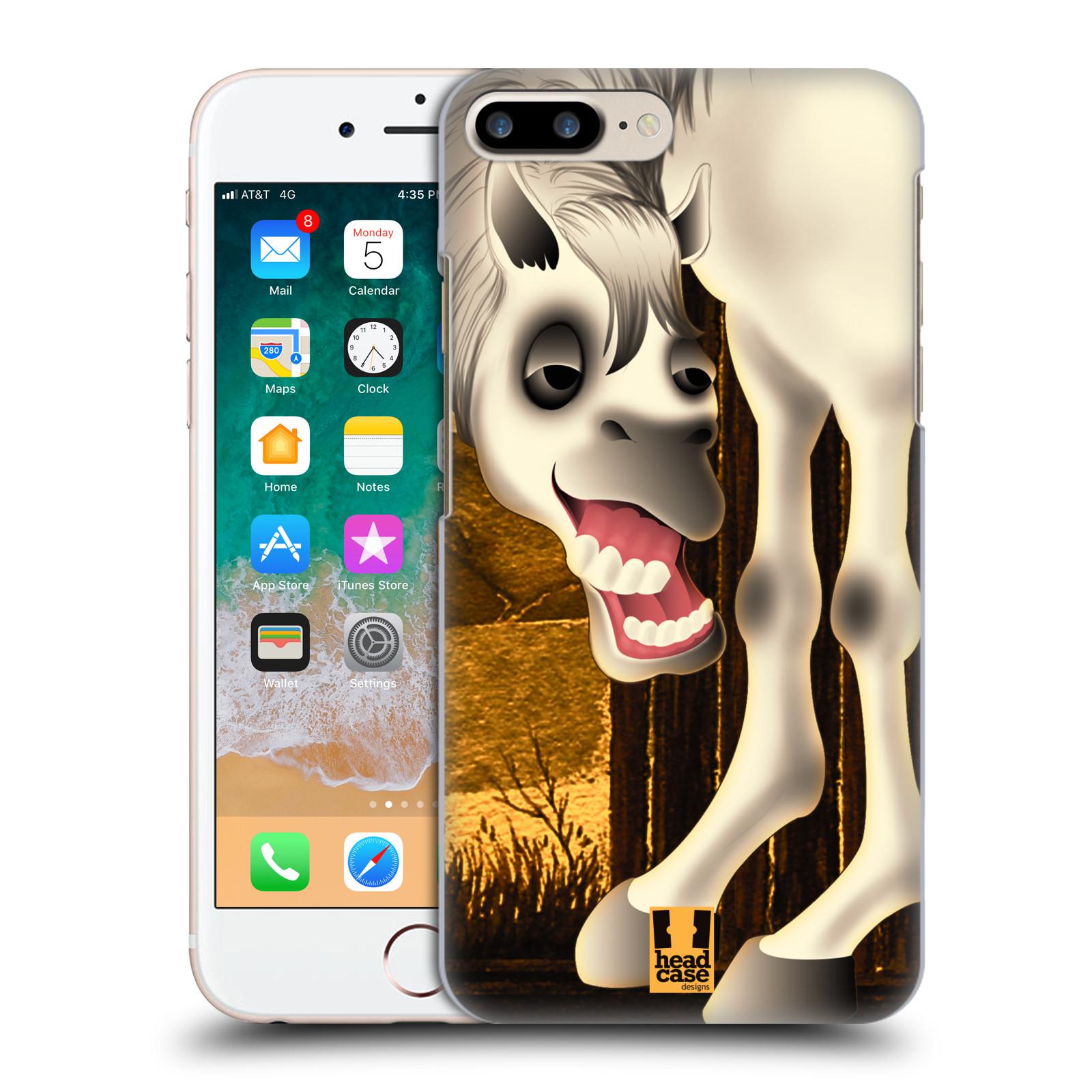 HEAD CASE plastový obal na mobil Apple Iphone 7 PLUS vzor dlouhé nohy kreslená zvířátka kůň