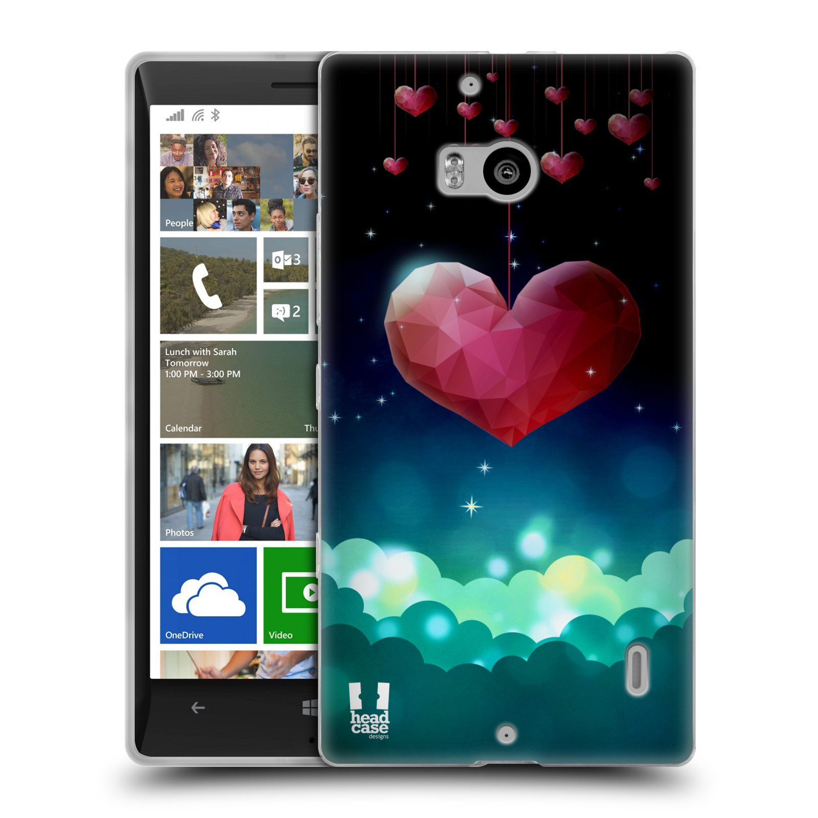 HEAD CASE LOVE AFLOAT SILICONE GEL CASE FOR NOKIA LUMIA 930