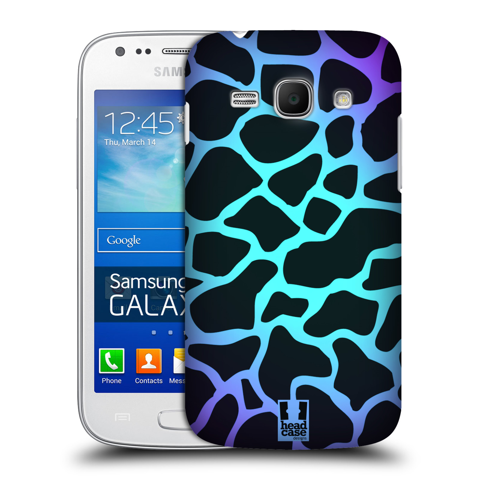HEAD CASE DESIGNS MAD PRINT CASE COVER FOR SAMSUNG GALAXY ACE 3 S7270 ...