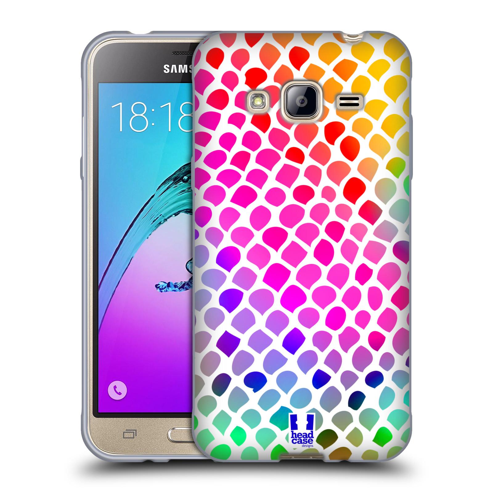 HEAD CASE silikonový obal na mobil Samsung Galaxy J3, J3 2016 vzor Divočina zvíře  duhový had