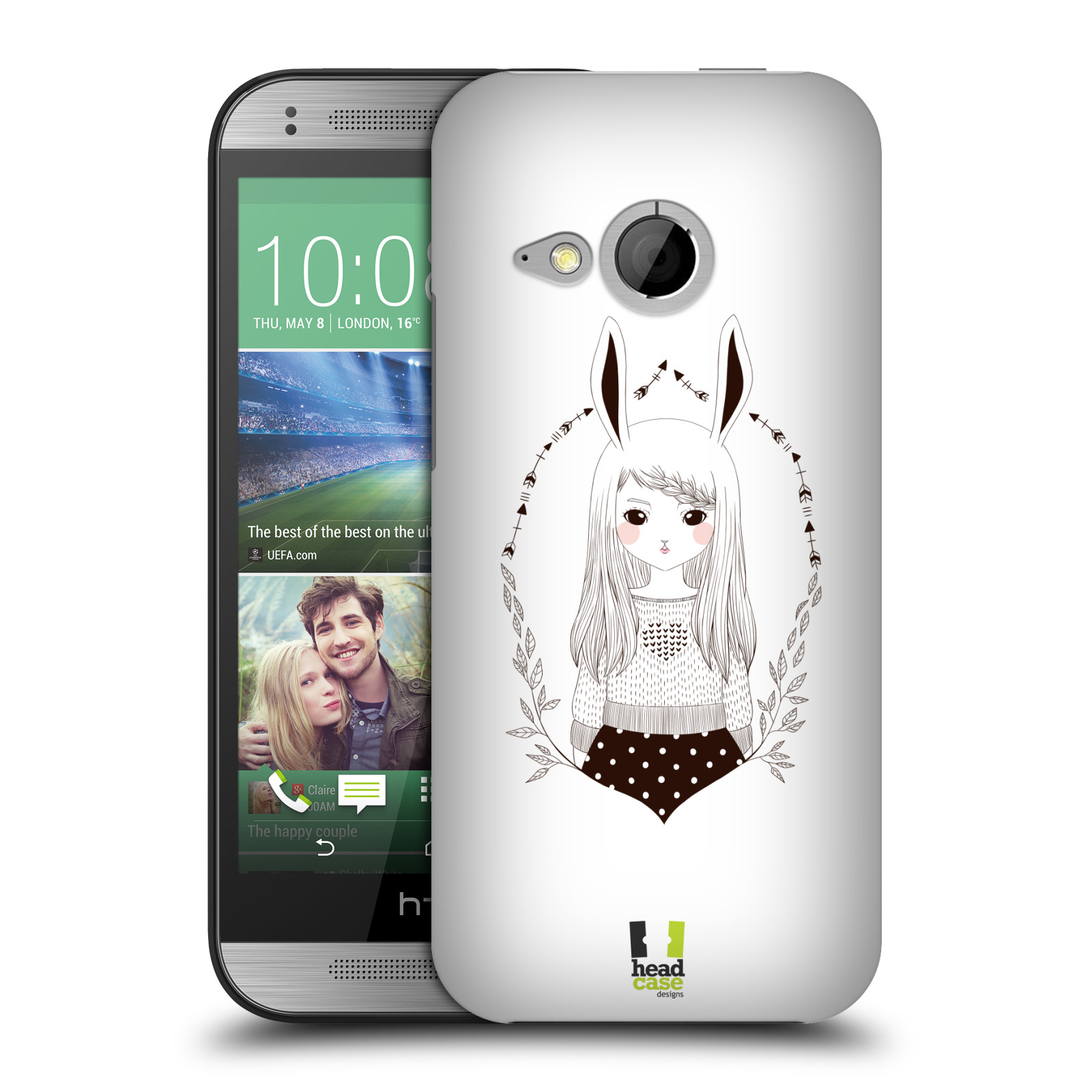 HEAD CASE DESIGNS MAIDENS OF THE WILD HARD BACK CASE FOR HTC ONE MINI 2