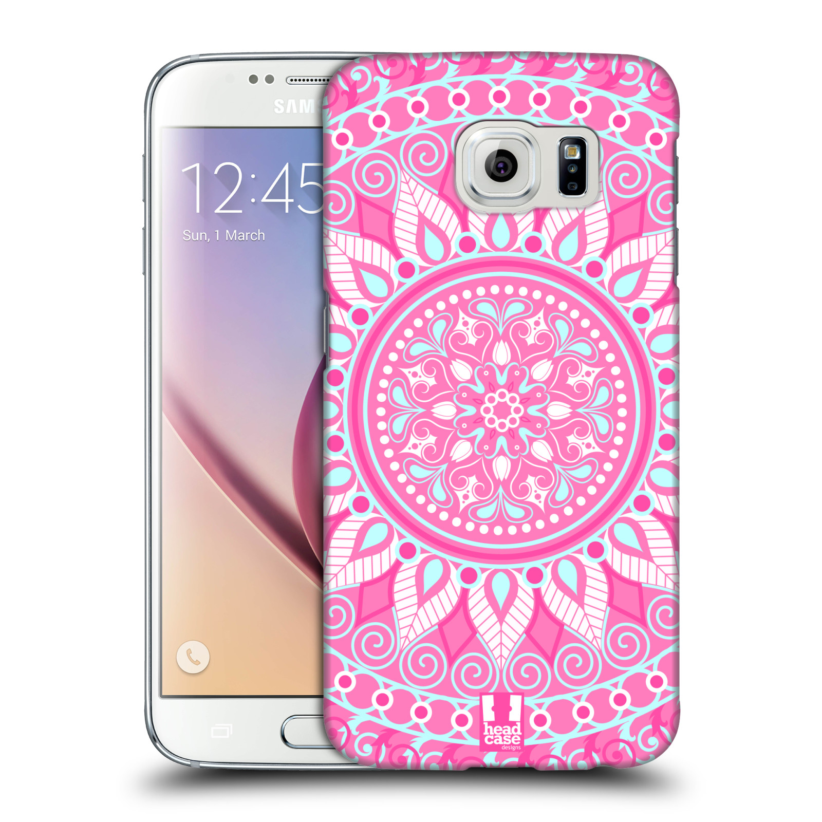 HEAD CASE DESIGNS MANDALA HARD BACK CASE FOR SAMSUNG PHONES 1