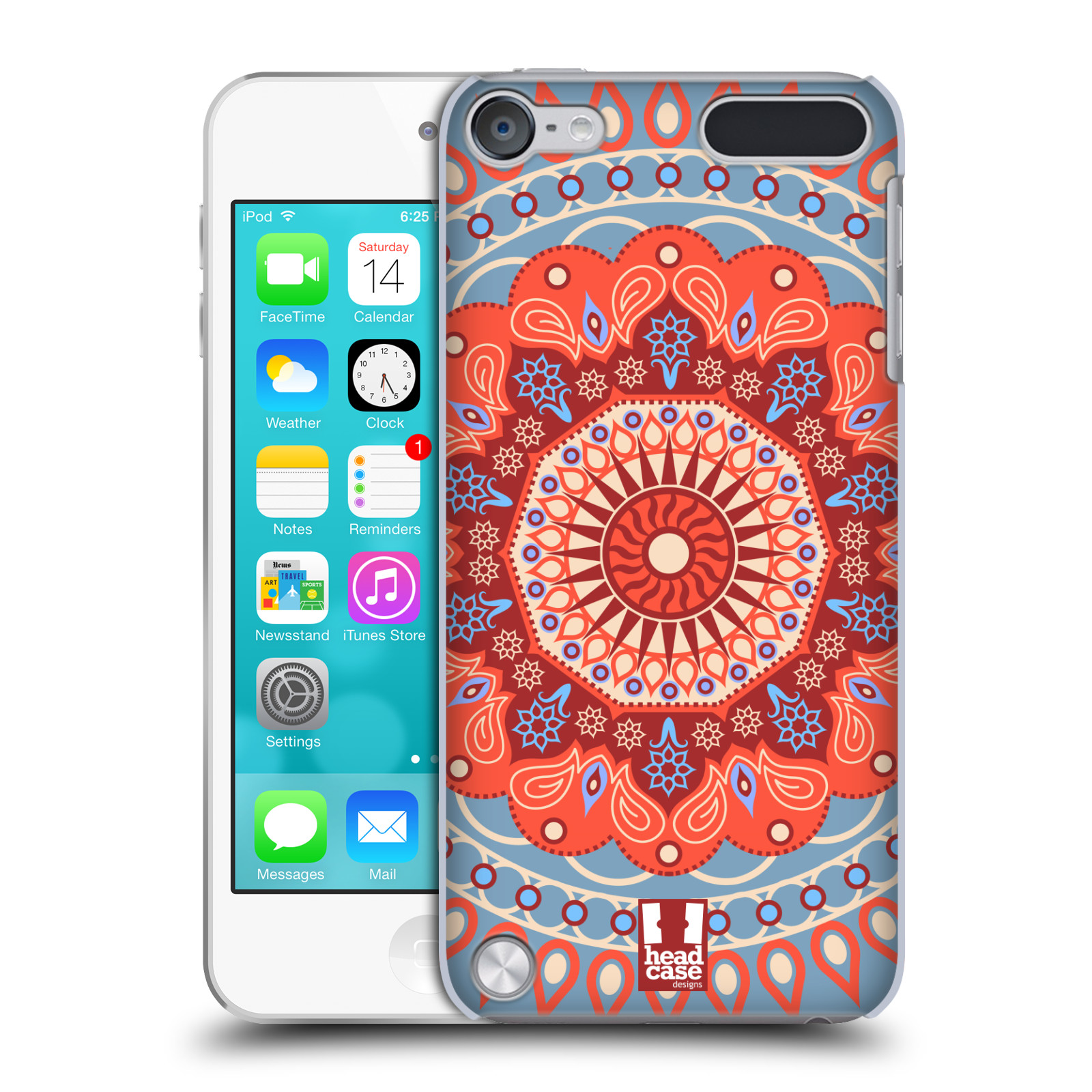 HEAD CASE DESIGNS MANDALA HARD BACK CASE COVER FOR APPLE iPOD TOUCH 5G 5TH GEN