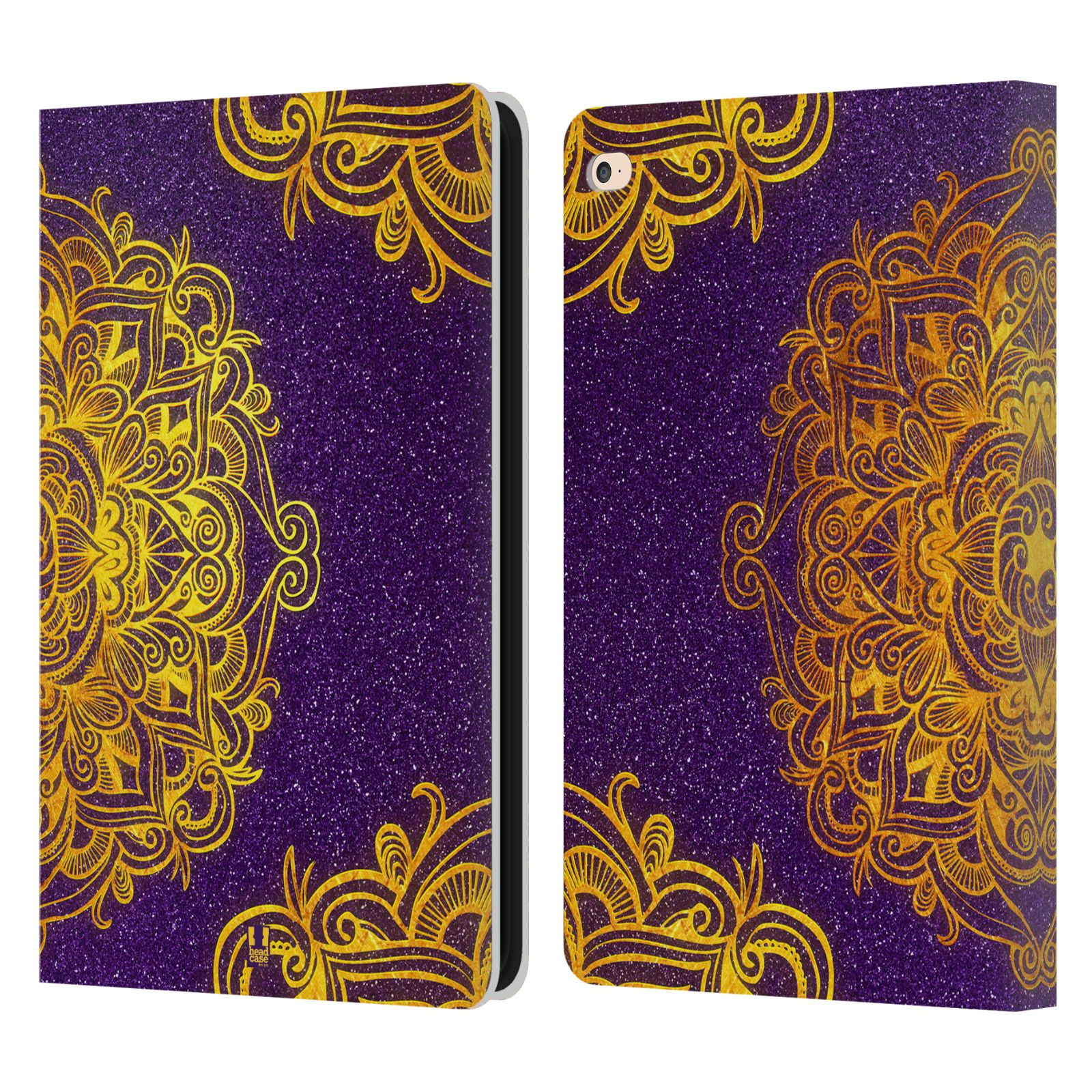 Leather Book Cover Ideas ~ Head case designs mandala doodles leather book wallet