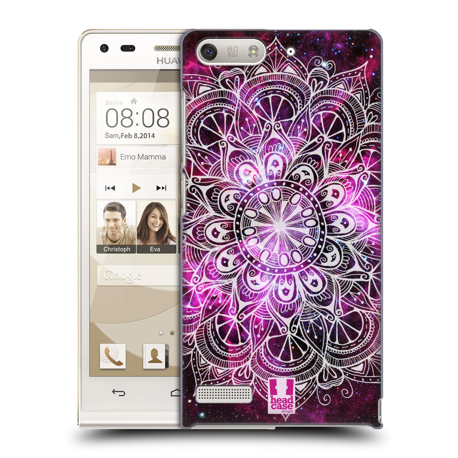 Plastové pouzdro na mobil Huawei Ascend G6 HEAD CASE Mandala Doodle Nebula (Kryt či obal na mobilní telefon Huawei Ascend G6 bez LTE)
