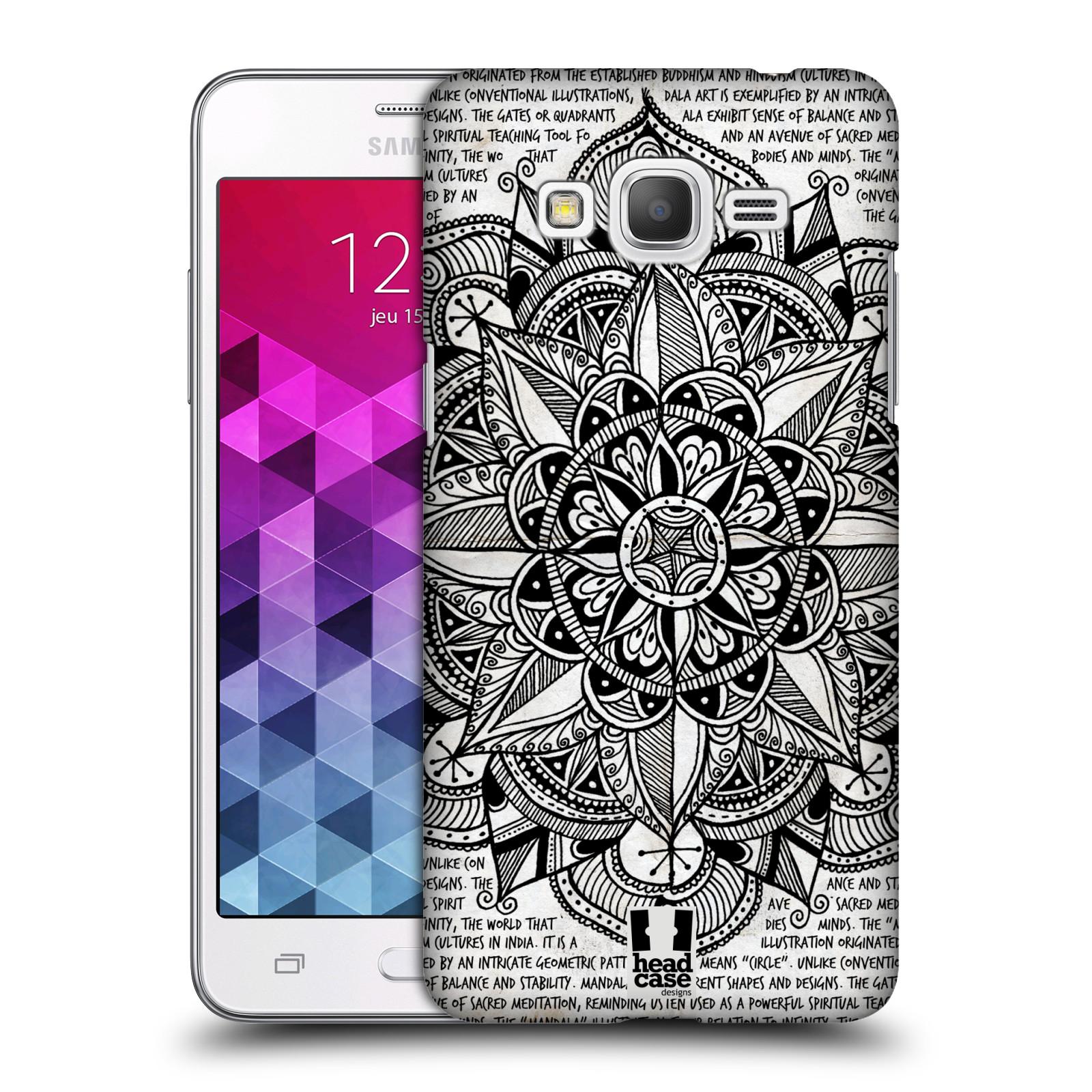 Funda head case designs con mandala doodles para samsung galaxy grand prime 3g duos - Grand mandala ...
