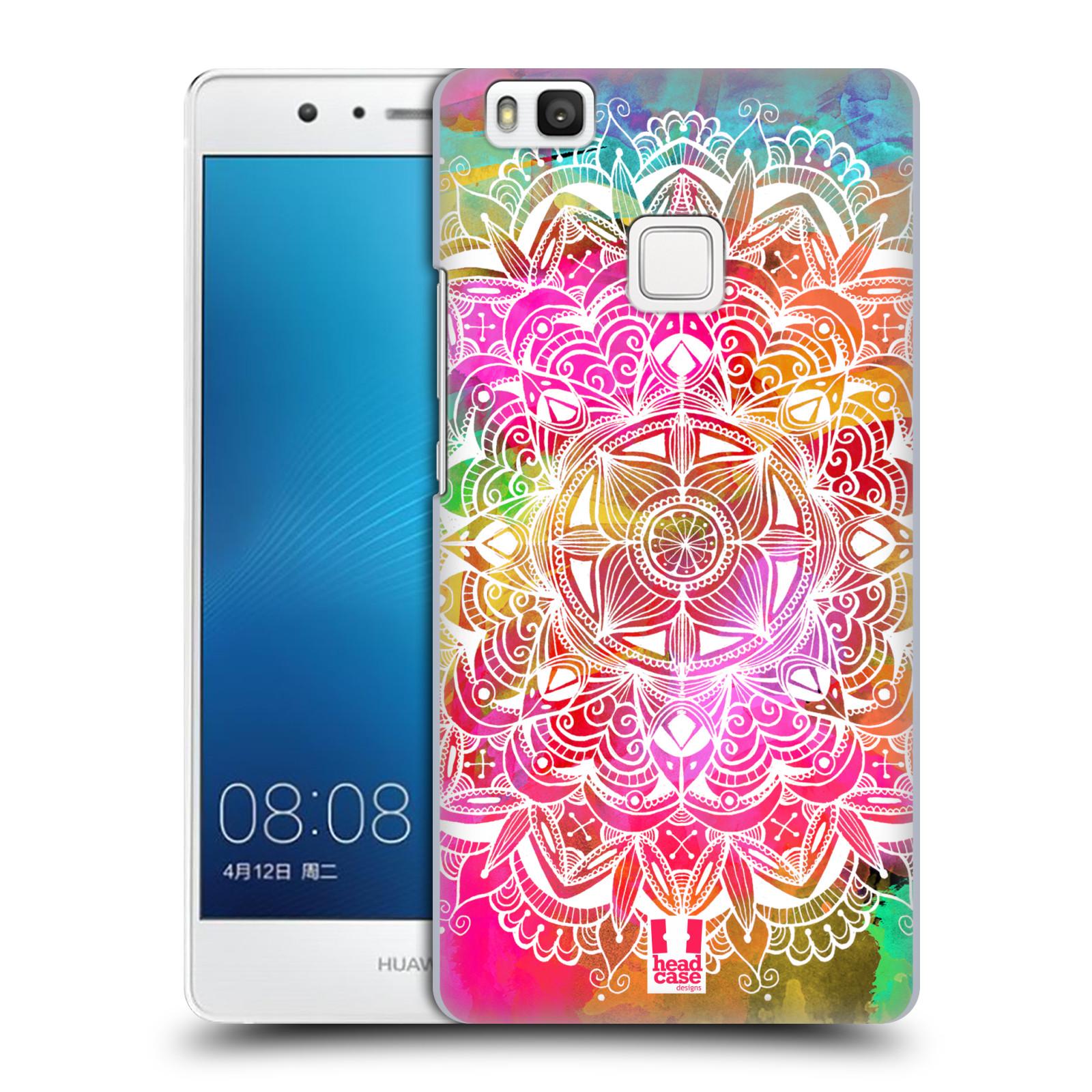 HEAD CASE plastový obal na mobil Huawei P9 LITE   P9 LITE DUAL SIM vzor  Indie Mandala slunce barevná DUHA 9b4dbf6eb0f