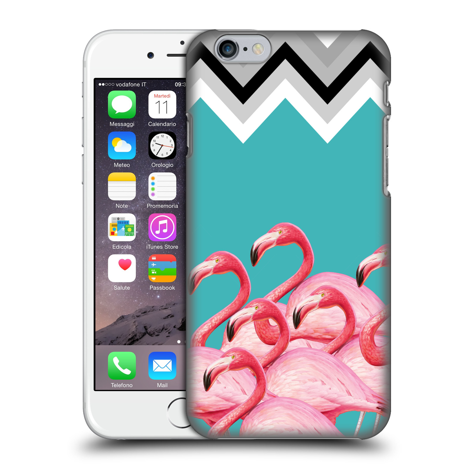 Mark Ashkenazi Flamingo-Chevron