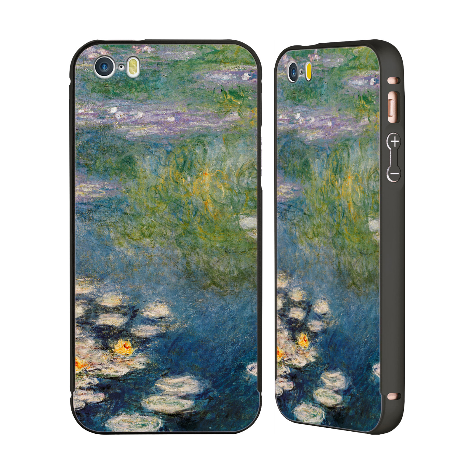 MASTERS-COLLECTION-PAINTINGS-1-BLACK-BUMPER-SLIDER-CASE-FOR-APPLE-iPHONE-PHONES