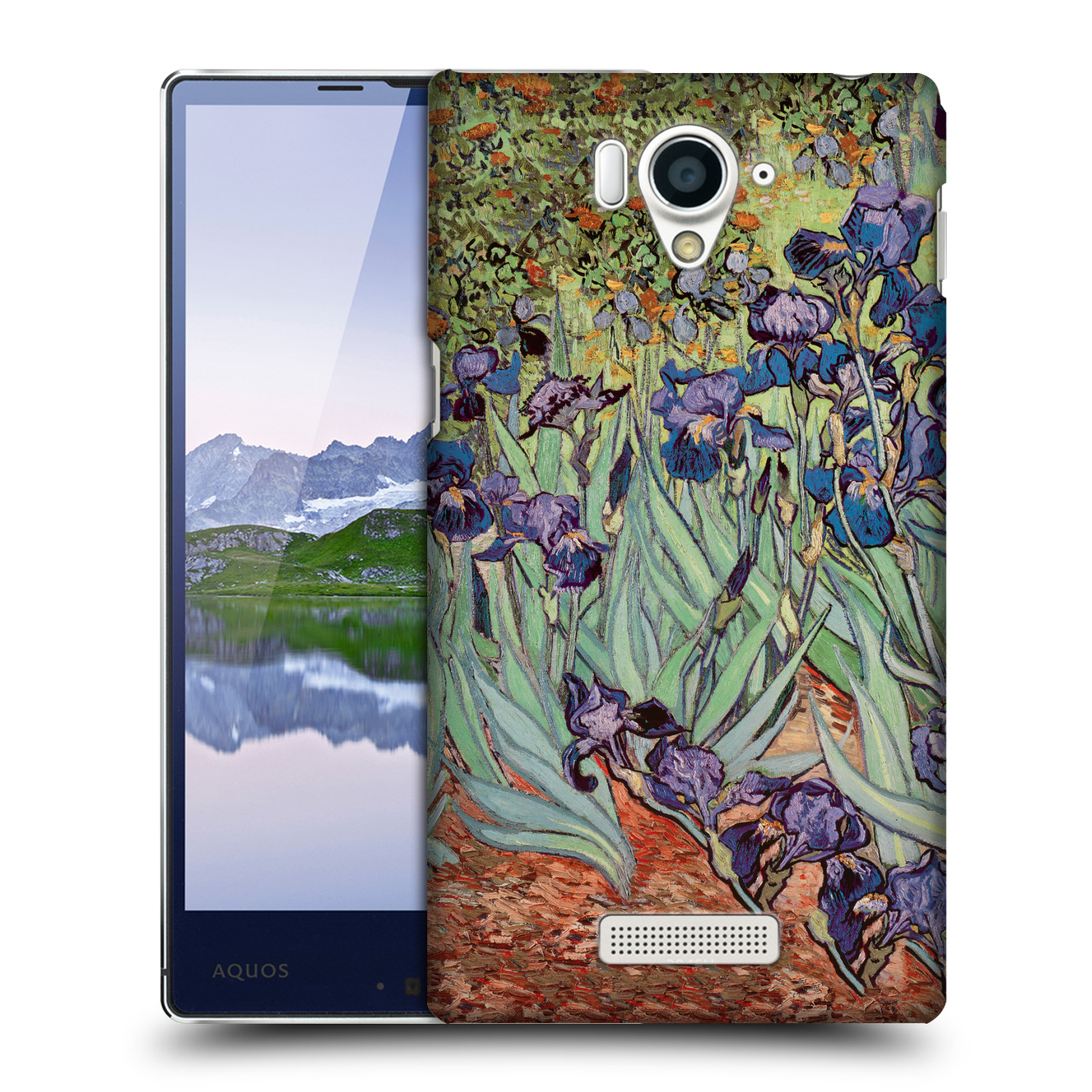 OFFICIAL-MASTERS-COLLECTION-PAINTINGS-2-HARD-BACK-CASE-FOR-SHARP-PHONES