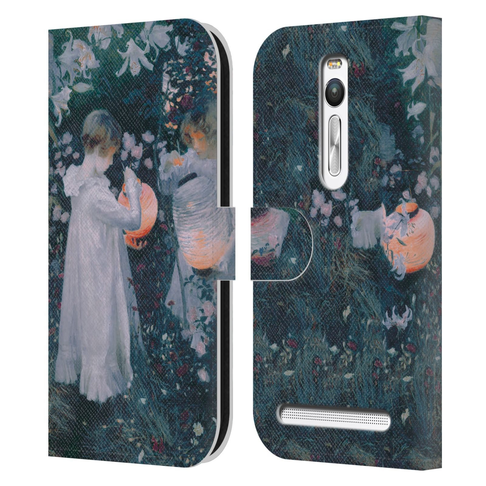 MASTERS-COLLECTION-PAINTINGS-2-LEATHER-BOOK-WALLET-CASE-FOR-ASUS-ZENFONE-PHONES