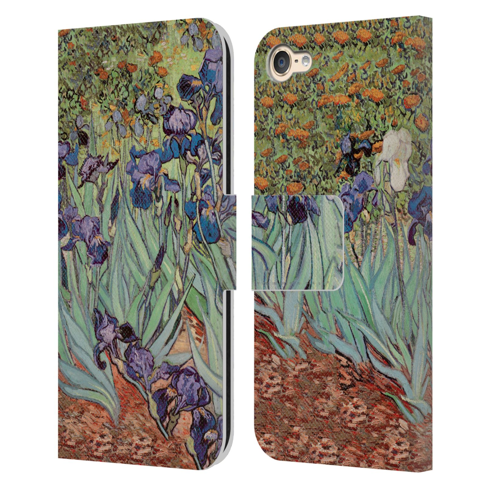 MASTERS-COLLECTION-PAINTINGS-2-LEATHER-BOOK-WALLET-CASE-FOR-APPLE-iPOD-TOUCH-MP3