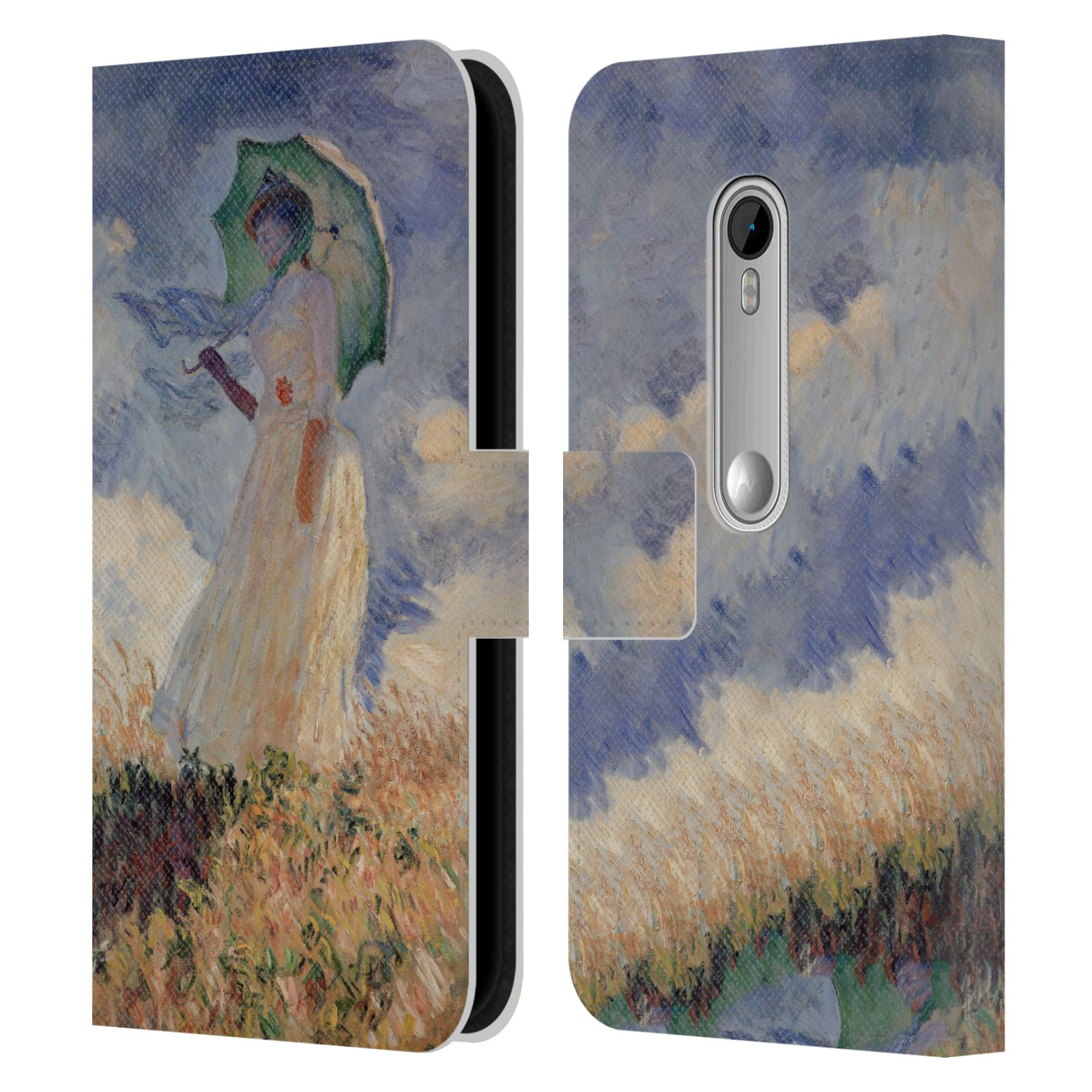 OFFICIAL-MASTERS-COLLECTION-PAINTINGS-2-LEATHER-BOOK-CASE-FOR-MOTOROLA-PHONES