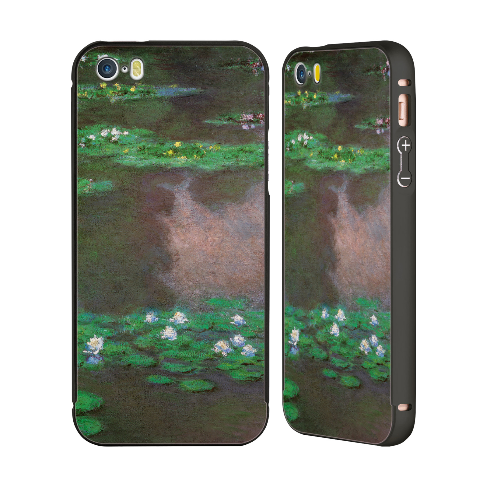 MASTERS-COLLECTION-PAINTINGS-2-BLACK-BUMPER-SLIDER-CASE-FOR-APPLE-iPHONE-PHONES