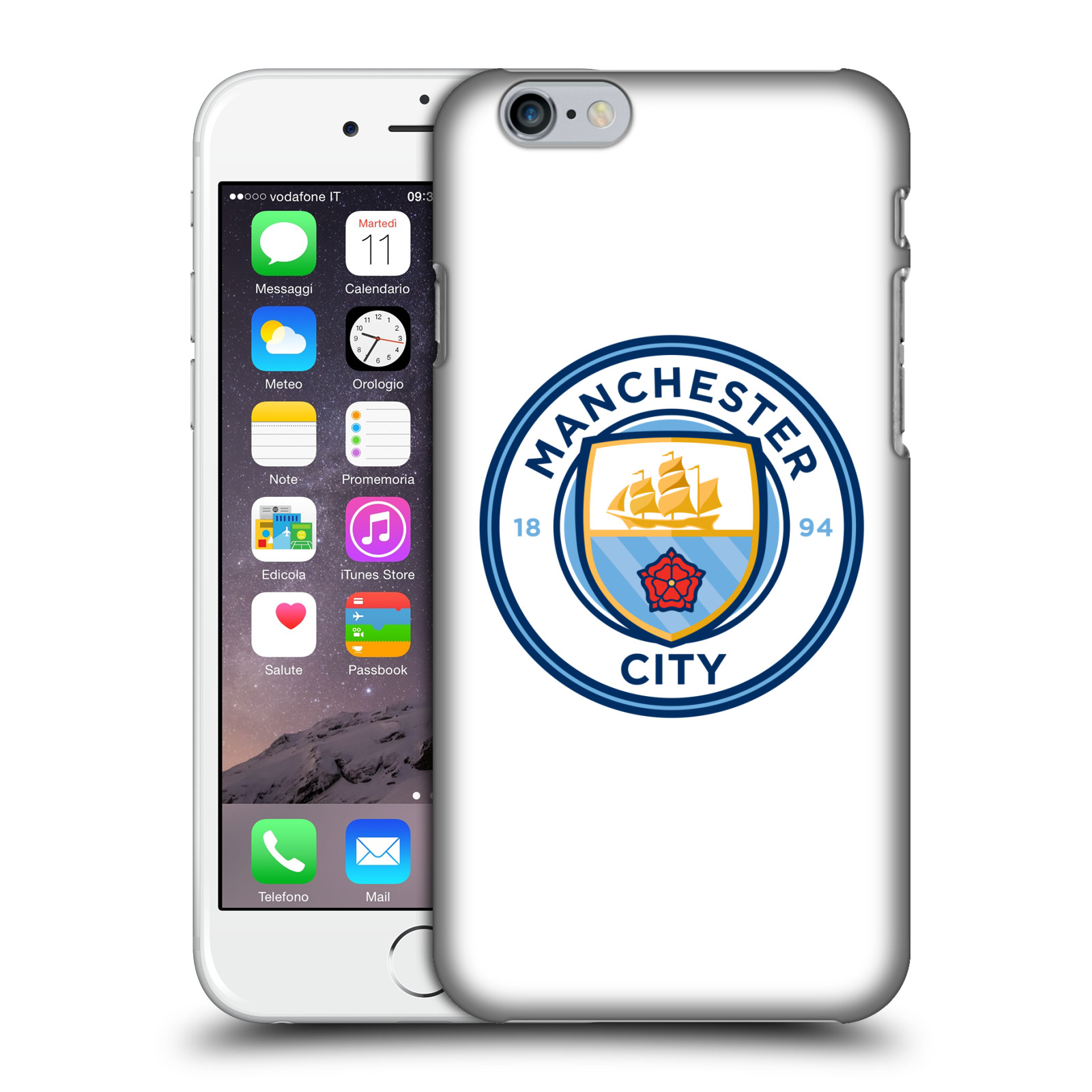 Manchester City FC MCFC Badge-Plain Full Colour