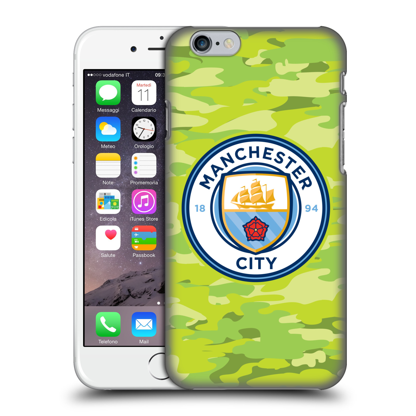 Manchester City FC MCFC Badge Camou-Goalee