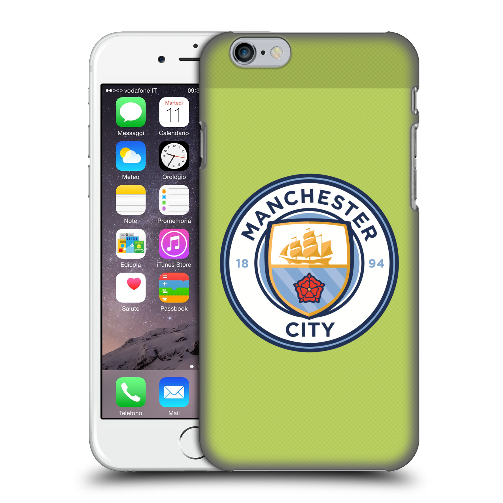 Manchester City FC MCFC Badge Kit 2016/17-Home Goalkeeper