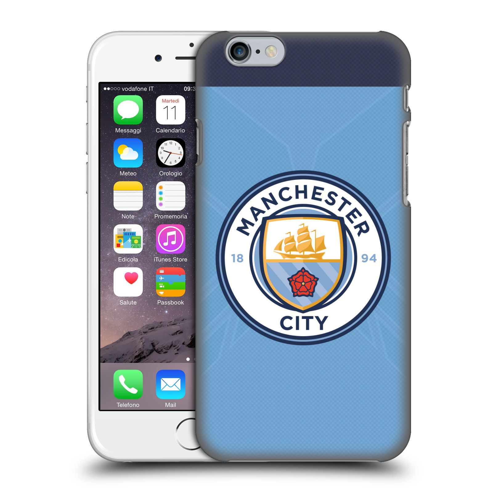 Manchester City FC MCFC Badge Kit 2016/17-Home