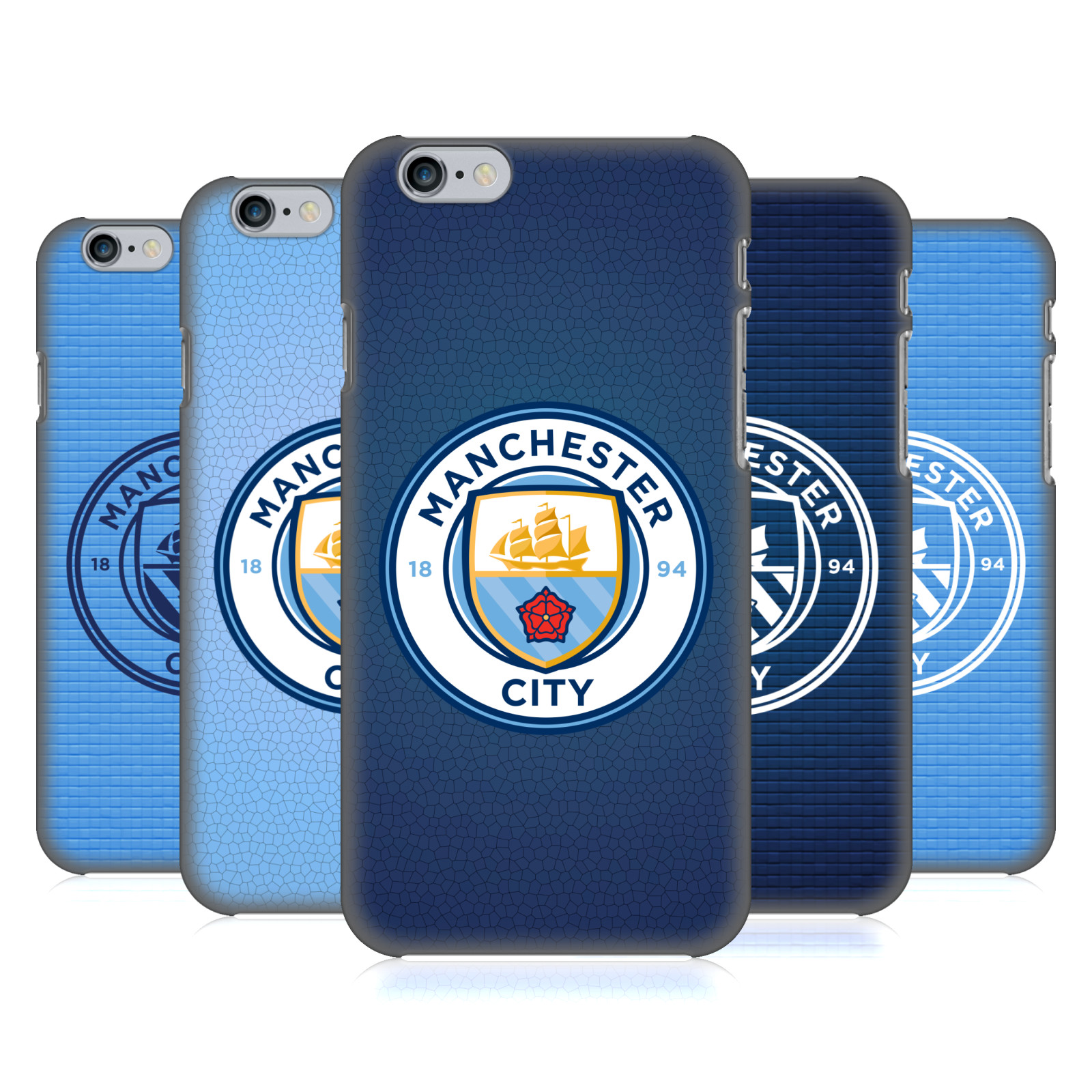 Manchester City FC MCFC Badge Pixels
