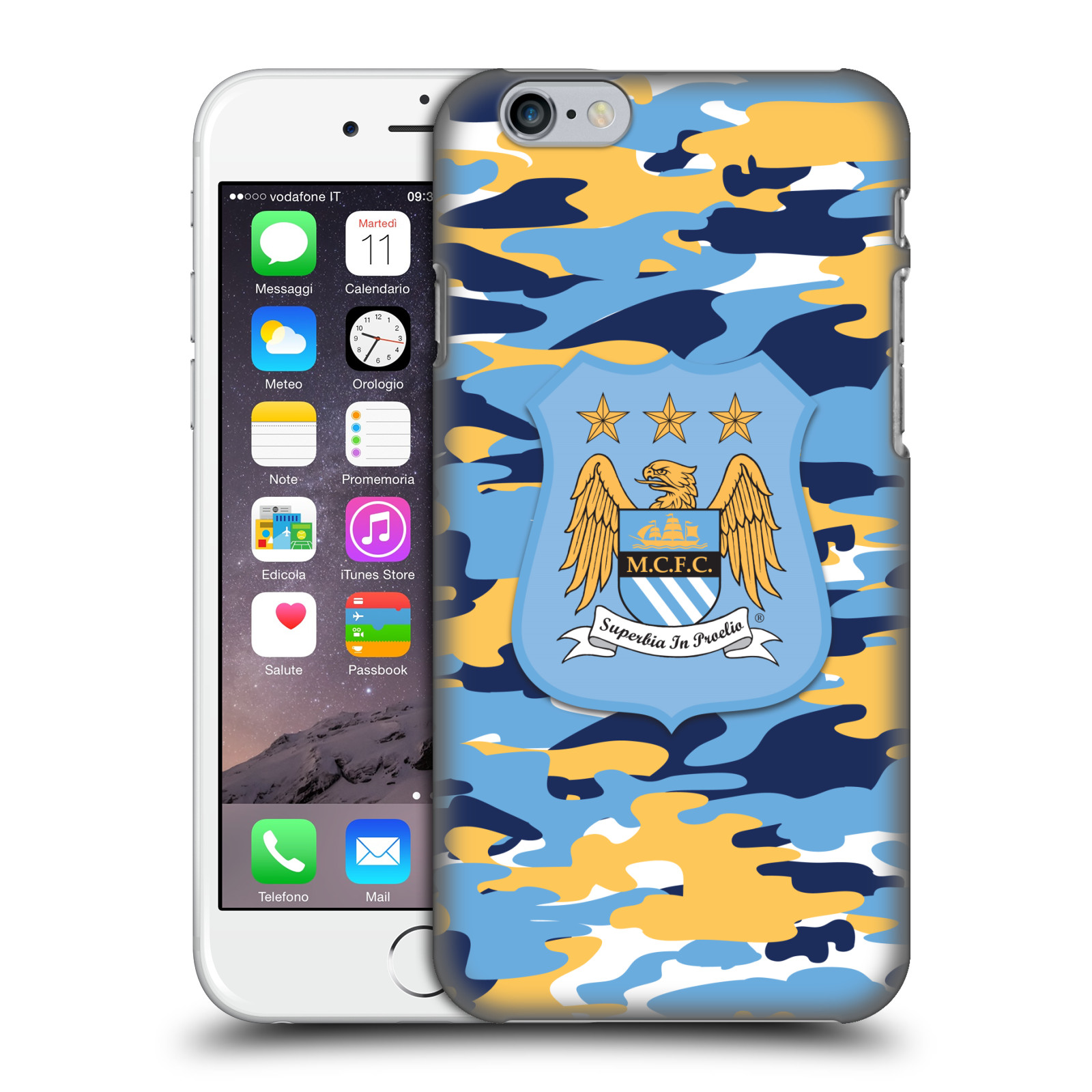 Manchester City FC MCFC Camou-Club Full Colour