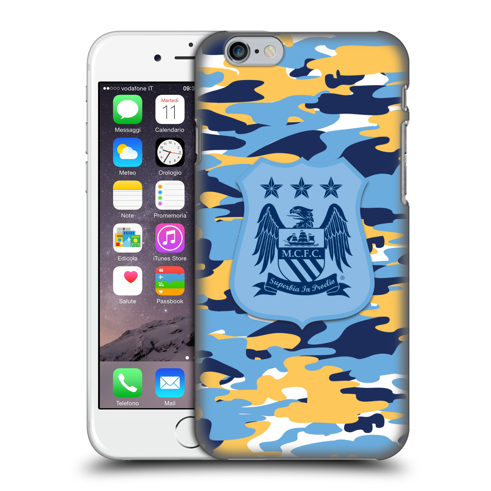 Manchester City FC MCFC Camou-Club Colourways One colour