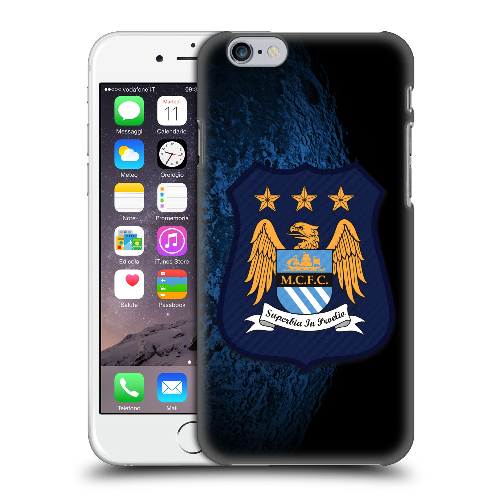 Manchester City FC Crest Kit-Away Kit