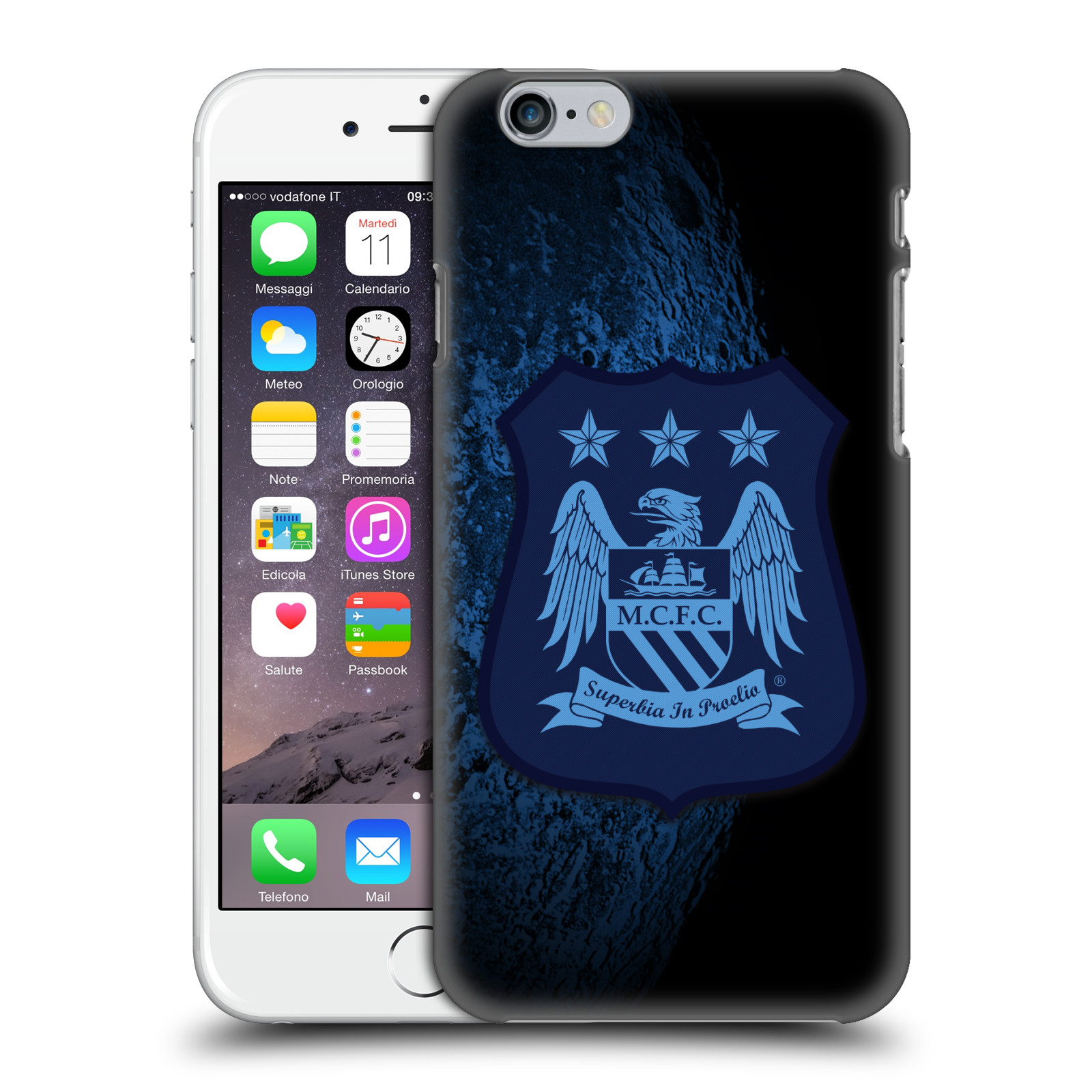 Manchester City FC Crest Kit-Away Kit Mono