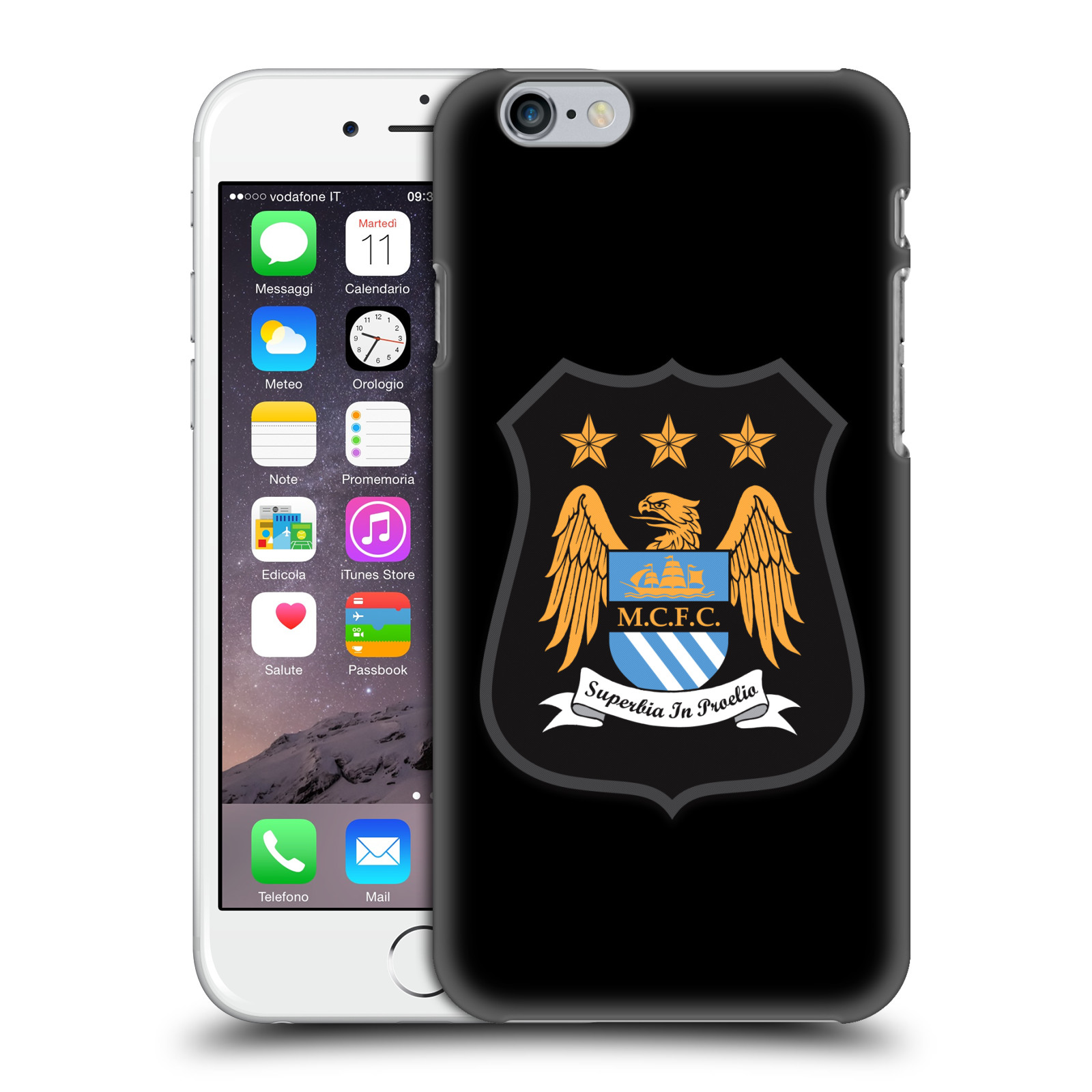 Manchester City FC Crest Kit-Full Colour