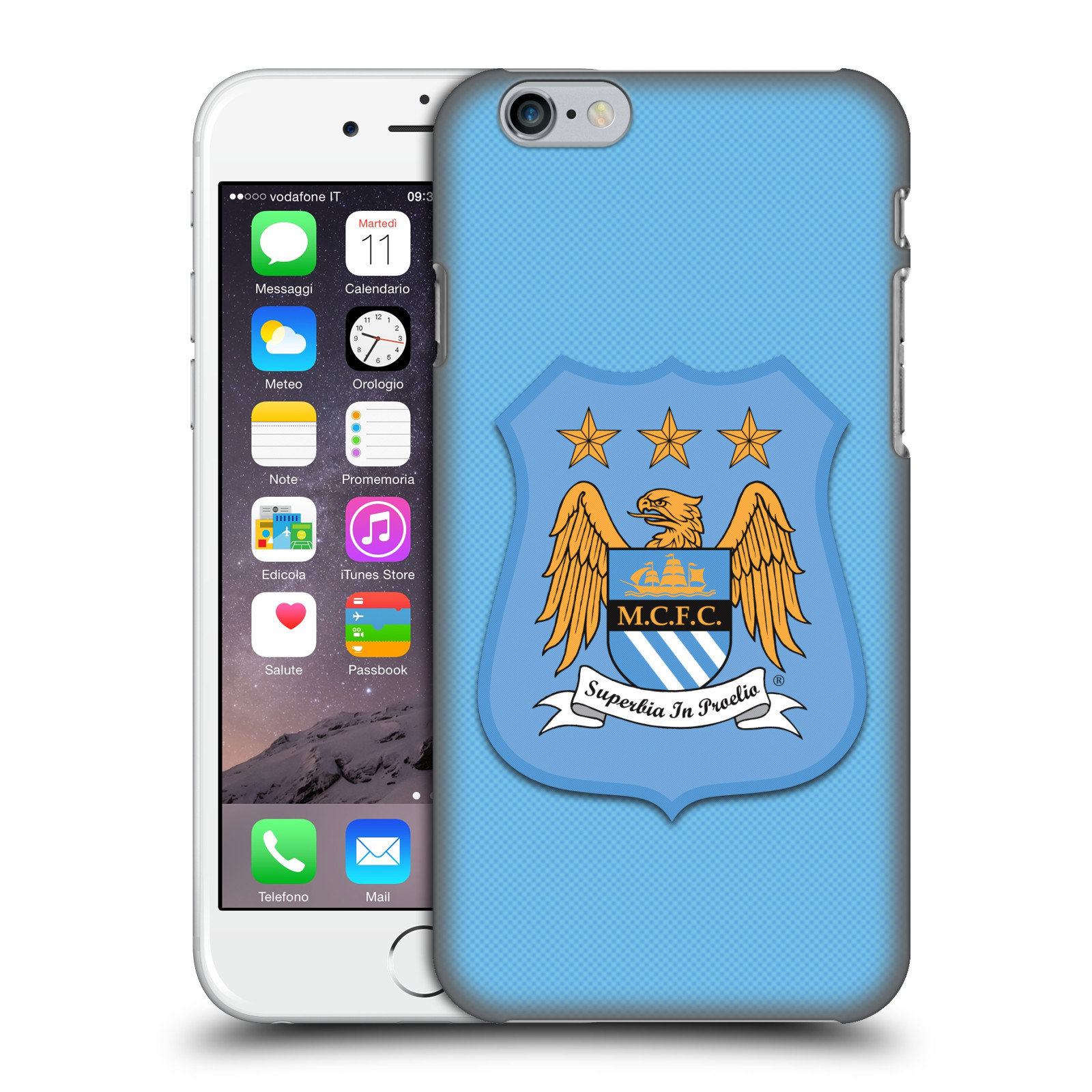 Manchester City FC Crest Kit-Home Kit