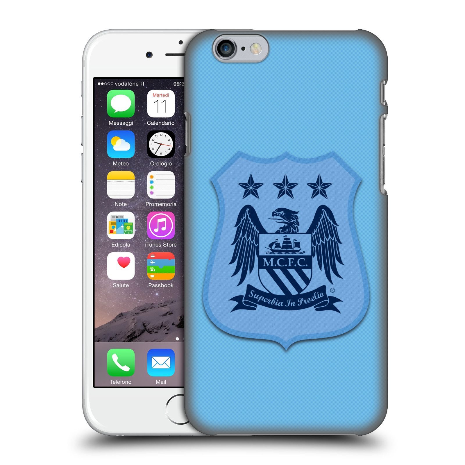 Manchester City FC Crest Kit-Home Kit Mono