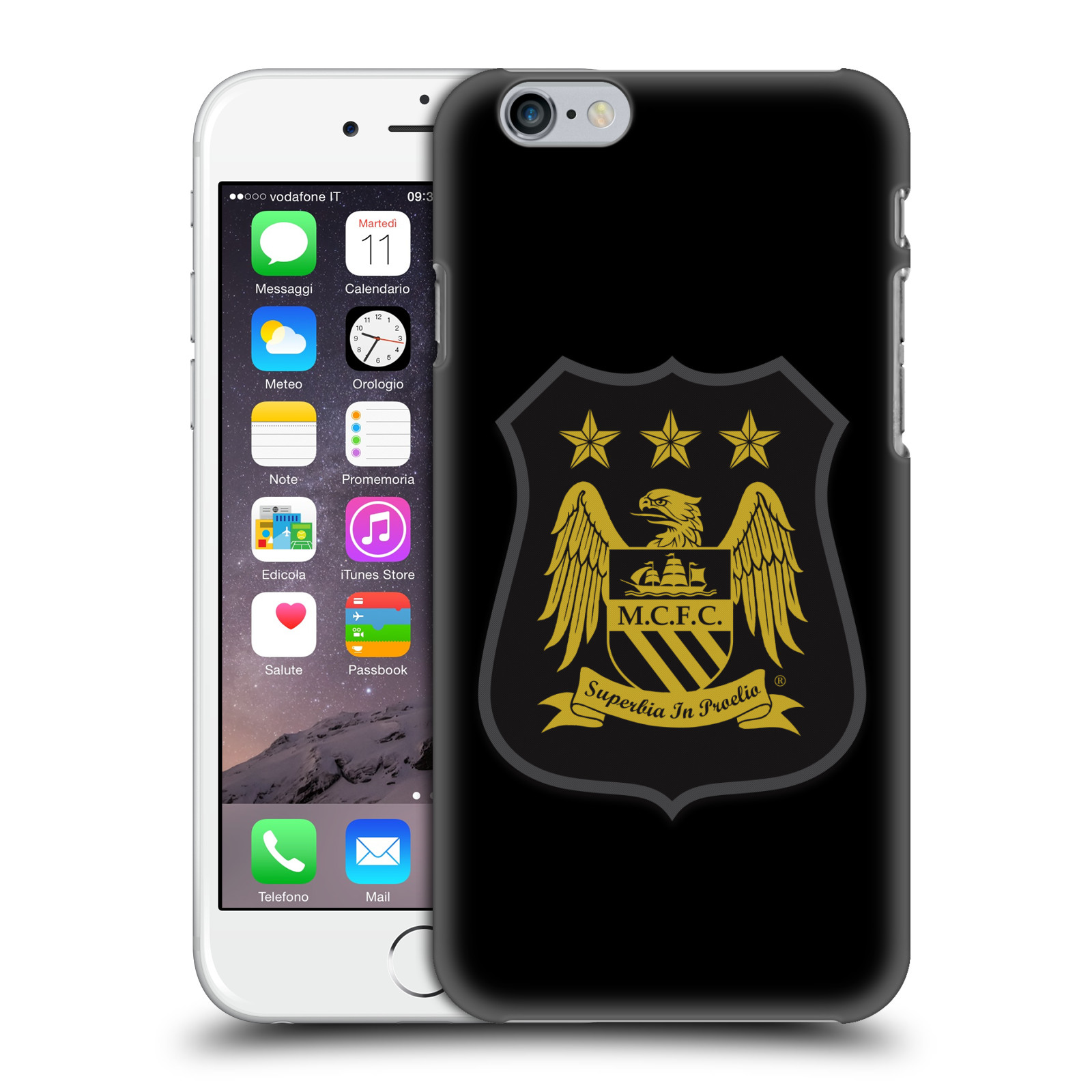 Manchester City FC Crest Kit-Mono Gold