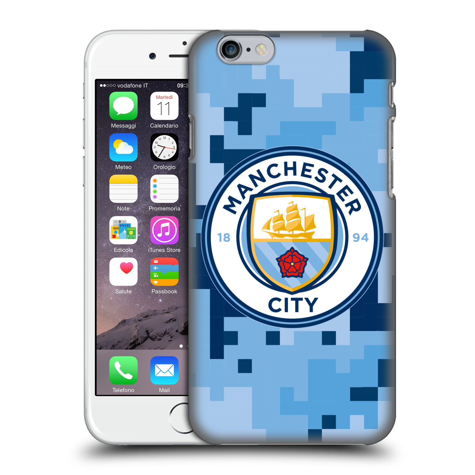 Manchester City FC MCFC Digital Camouflage-Bluemoon