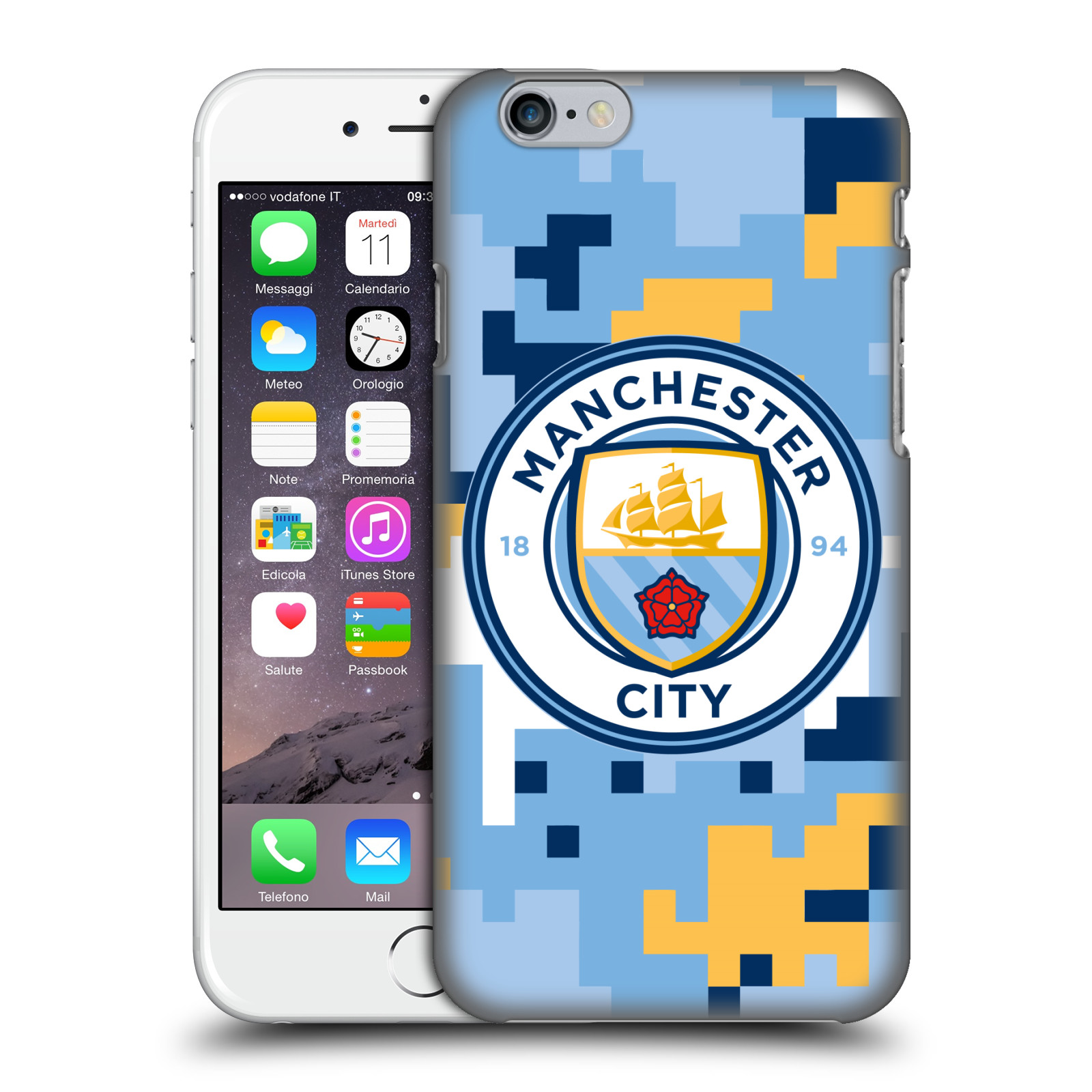 Manchester City FC MCFC Digital Camouflage-Club