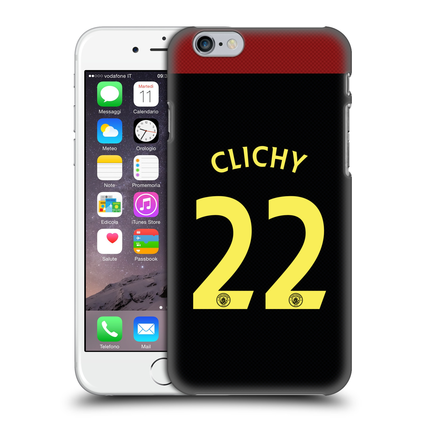 Manchester City FC MCFC Players Away Kit 2016/17 Group 1-Clichy