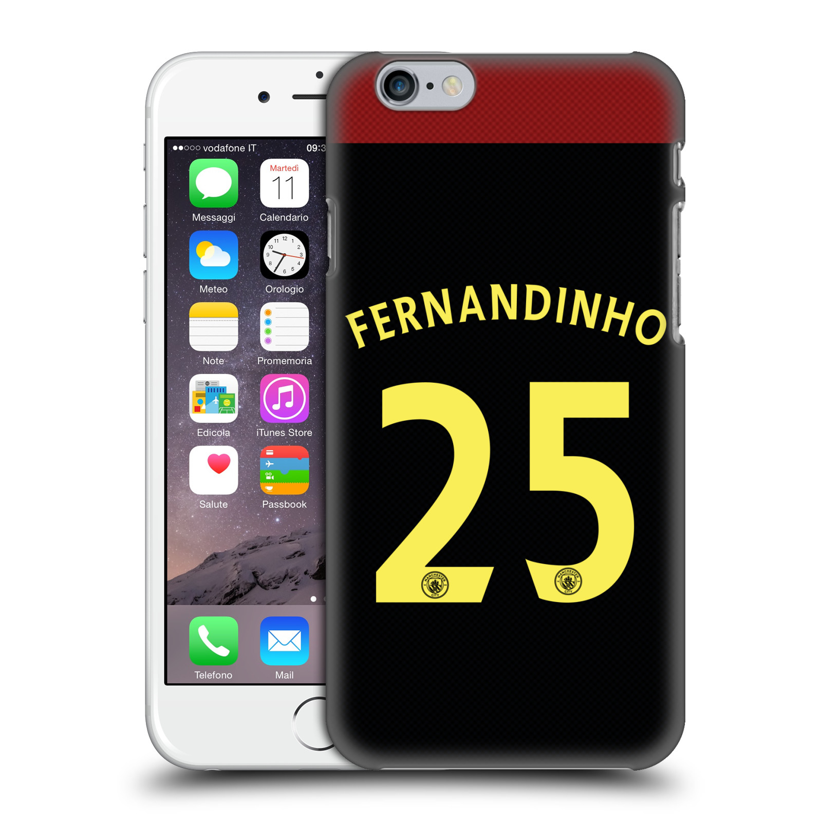Manchester City FC MCFC Players Away Kit 2016/17 Group 2-Fernandinho
