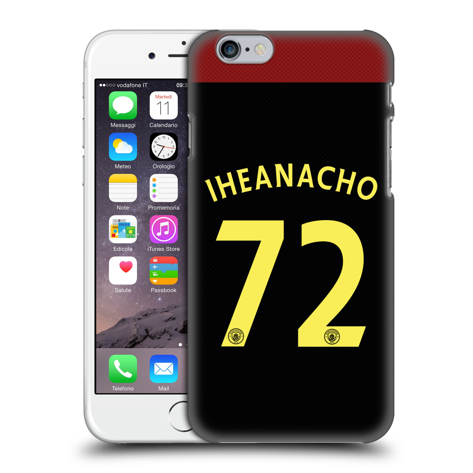 Manchester City FC MCFC Players Away Kit 2016/17 Group 2-Iheanacho