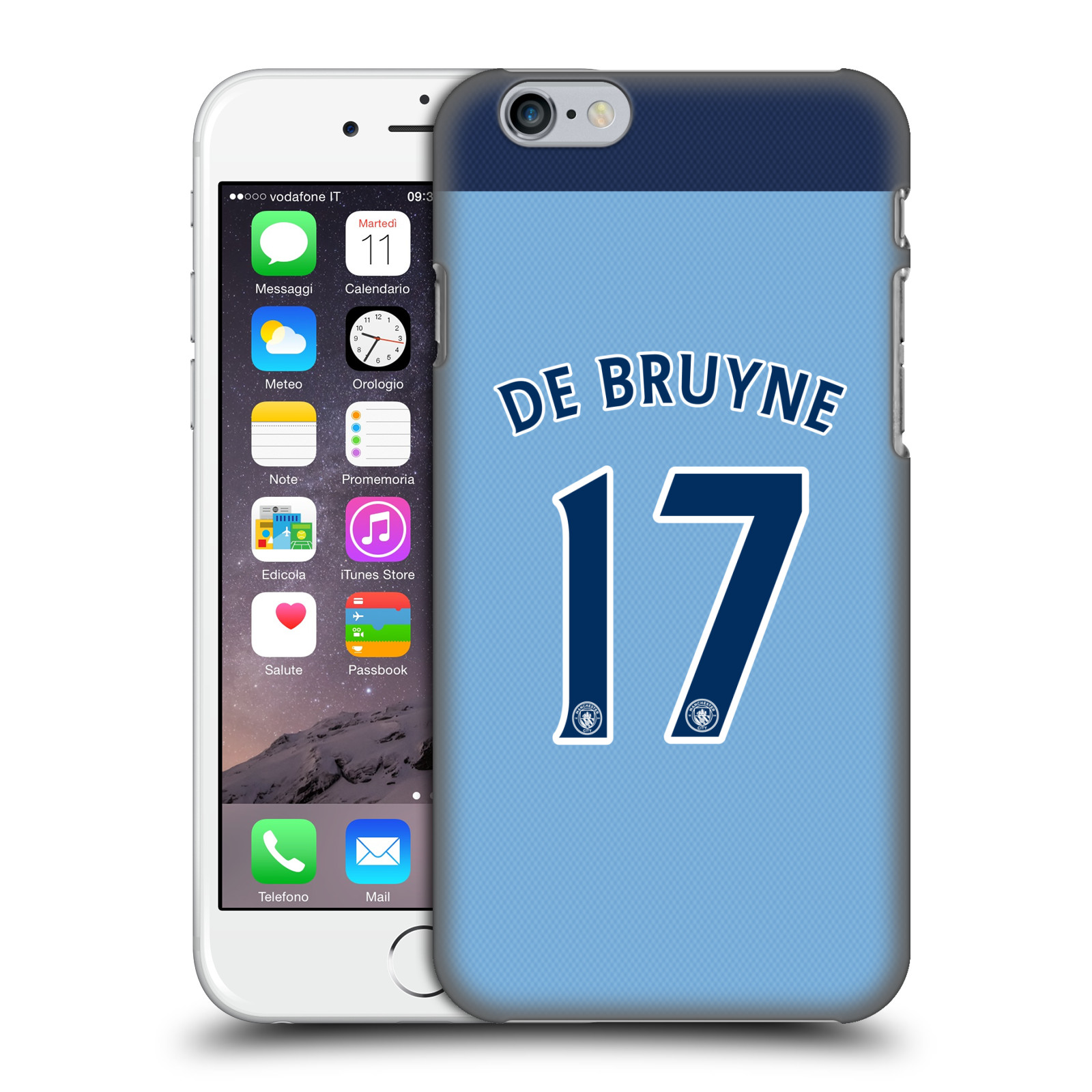 Manchester City FC MCFC Player Home Kit 2016/17 Group 1-De Bruyne