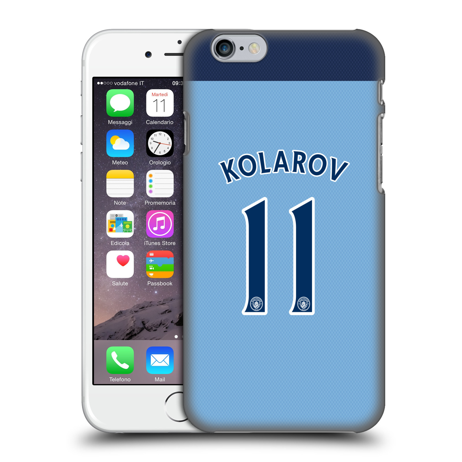 Manchester City FC MCFC Player Home Kit 2016/17 Group 1-Kolarov